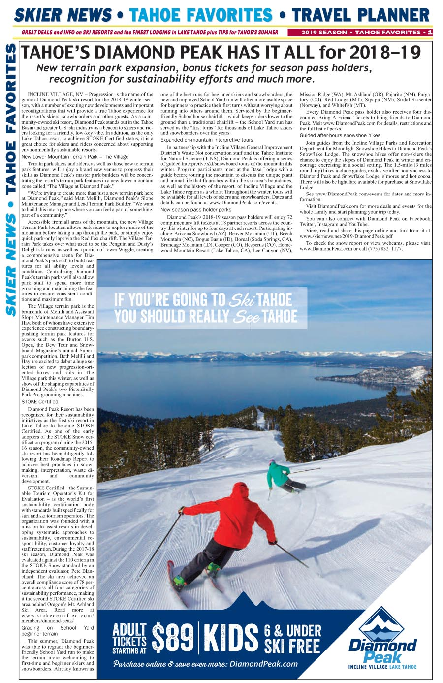 Click to link to Tahoe info