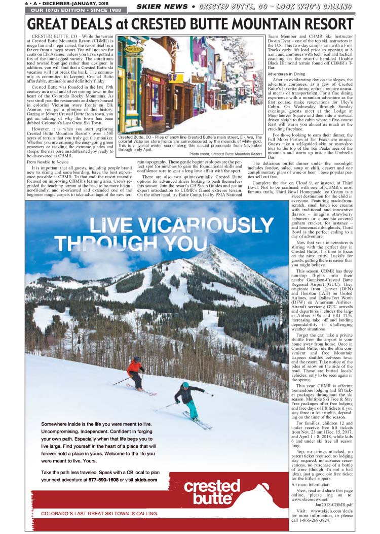 Crested Butte Deals