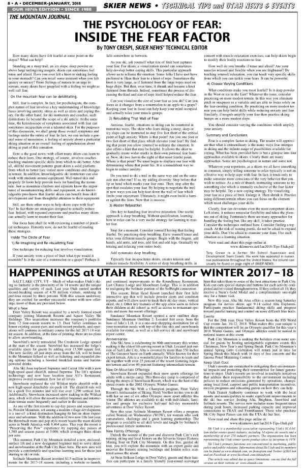 Ski Tips & Sun Valley info