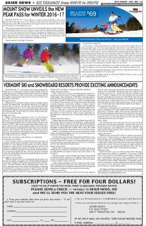 Ski Okemo - Stay Rutland