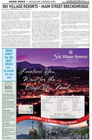 Ski Village Resorts in Breck